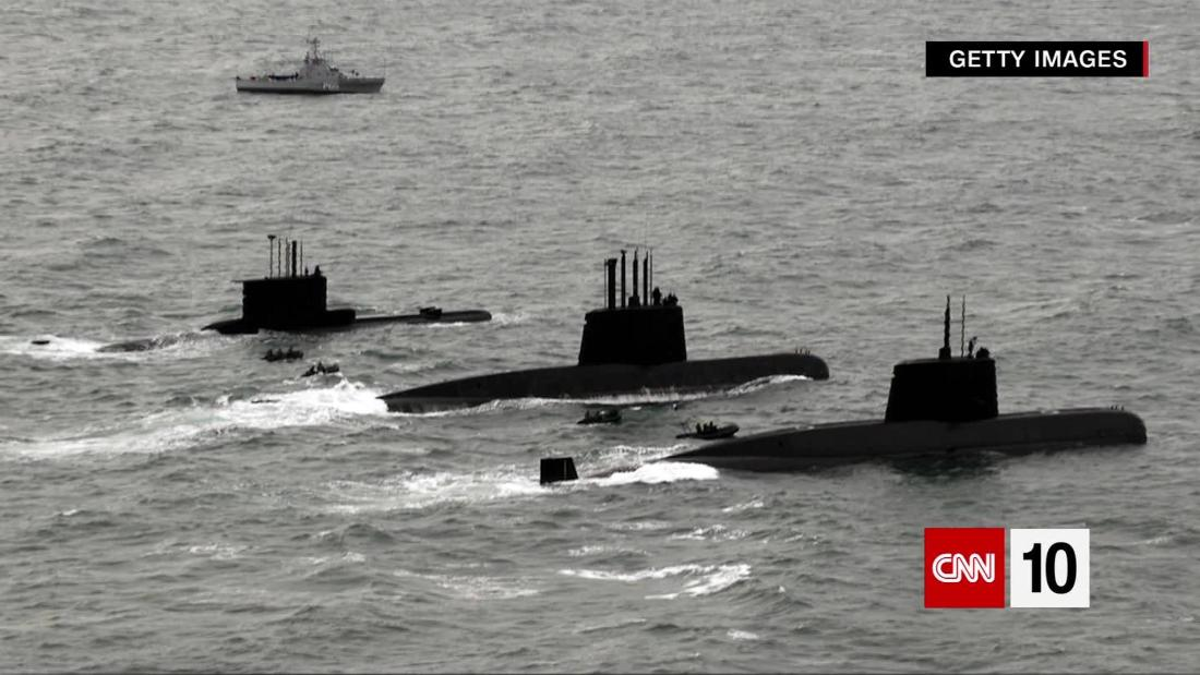 Argentine Submarine Vanishes; Satellite's Perspective of Our