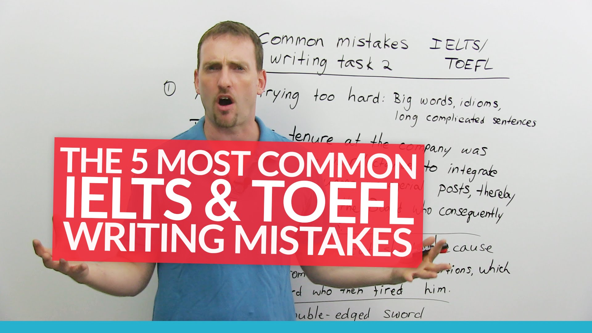 most common toefl essay mistakes