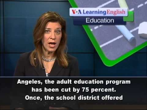 EDUCATION REPORT - US Budget Cuts Impact English Classes for Immigrants