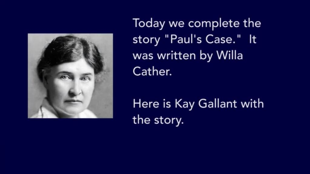 who is paul from pauls case by willa cather