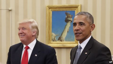 President Barack Obama leaves the economy to Donald Trump in much better shape than when he took office in 2009.