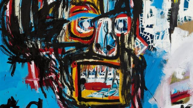 VOA Special English - Basquiat Painting Sells for $110.5 ...