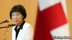 Kim Sunhyang, acting president of the Korea Red Cross, proposes talks to restart meetings of families separated by the Korean War..