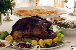 A roasted, stuffed Thanksgiving turkey often steals the show!