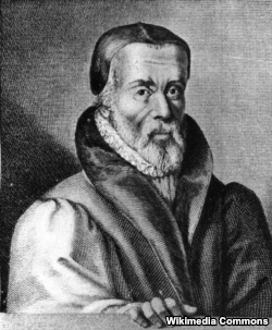 An image believed to be of William Tyndale.