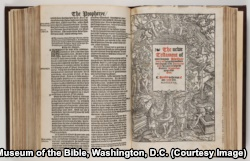 The Matthew Bible New Testament title page
