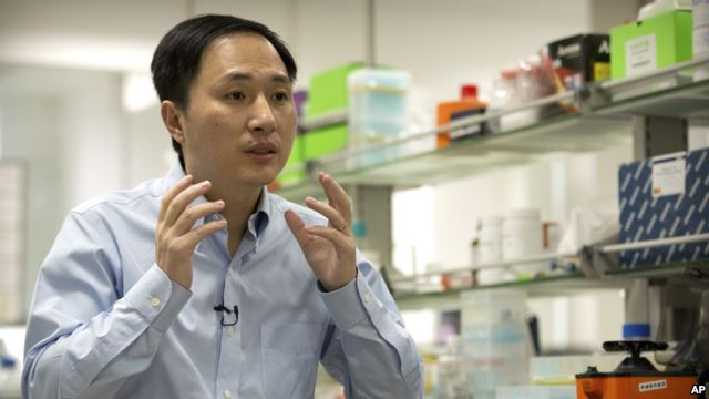 Chinese Scientist Claims First Gene Edited Babies