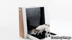 The inventors of Inubox say they hcreated the first device for dogs to capture, processes and contain dog waste with a fully automated process. (Inubox)