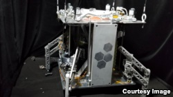 The steam-powered WINE spacecraft is still under development by researchers at the University of Central Florida and U.S.-based Honeybee Robotics. (University of Central Florida)