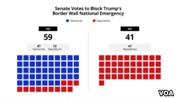 Senate Votes to Block Trump's Border Wall National Emergency