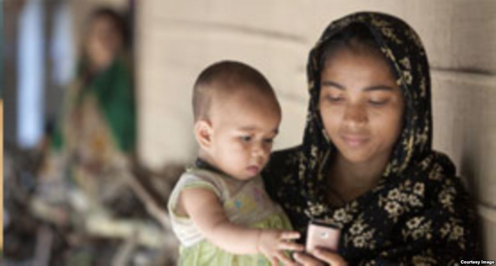 MAMA seeks to improve mother and child health through mobile phone messages