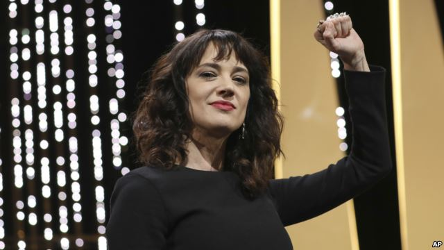 Asia Argento, a Leader of #MeToo, Accused of Sexual Assault